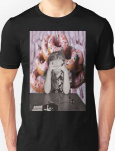 Sensitive To Donuts & Crystal Energy Unisex T-Shirt
