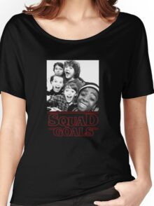 Stranger Things Squad Goals tshirt Women's Relaxed Fit T-Shirt