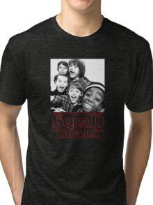 Stranger Things Squad Goals tshirt Tri-blend T-Shirt