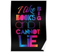 Baby Got Books (Rainbow simple) Poster