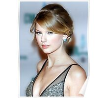Taylor Swift - Celebrity (Oil Paint Art) Poster