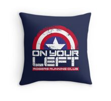 """On Your Left"" Version 02 Throw Pillow"