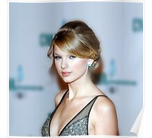 Taylor Swift - Celebrity (Oil Paint Art) (Square) Poster