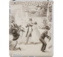 Performing Arts Posters A magical musical comedy Bimbo of Bombay 0815 iPad Case/Skin