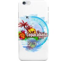 Copacabana Brazil iPhone Case/Skin