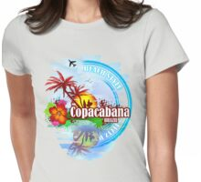 Copacabana Brazil Womens Fitted T-Shirt