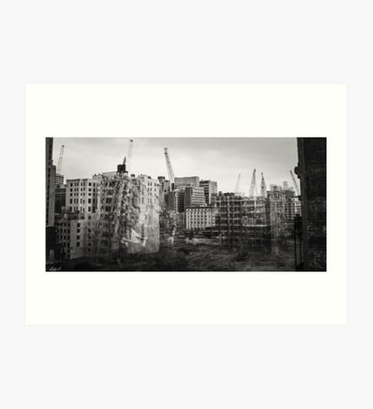 Block Bounded by 13th Street, Broad Street, Arch Street and Race Street Art Print
