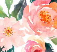 floral flower bunch watercolor Sticker