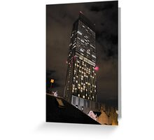Beetham Tower Manchester's tallest skyscraper Greeting Card