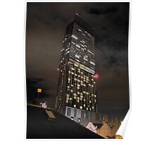Beetham Tower Manchester's tallest skyscraper Poster