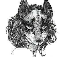 Kitsune - Fox Mask by Toucano