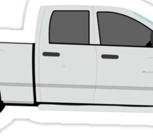 2006 2007 2008 Dodge Ram- silver Sticker