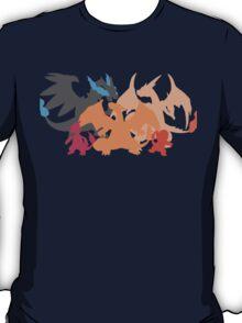 Charizard-evolution   Tshirt T-Shirt