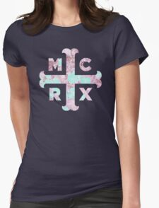 Floral MCRX Womens Fitted T-Shirt