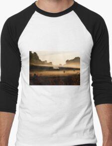 Sunrise on Bush Rd. XV Men's Baseball ¾ T-Shirt