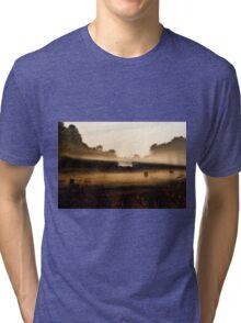 Sunrise on Bush Rd. XV Tri-blend T-Shirt