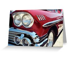 Bright Lights Classic Chrome Photo Greeting Card