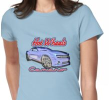 2013 Hot Wheels Camaro Redux Womens Fitted T-Shirt