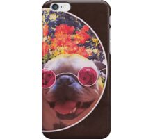 Happy Yin and Yang Pug  iPhone Case/Skin