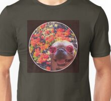Happy Yin and Yang Pug  Unisex T-Shirt
