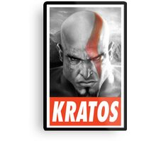 (GEEK) Kratos Metal Print