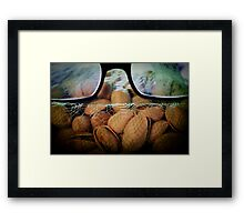 Pistachios Framed Print