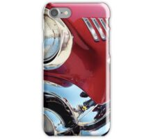 Bright Lights Classic Chrome Photo iPhone Case/Skin