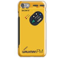 QuickSilver Cosplay Walkman  iPhone Case/Skin