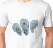 Watercolor Oysters Pattern  Unisex T-Shirt