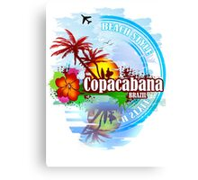 Copacabana Brazil Canvas Print