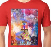 Empire State Building Painted Unisex T-Shirt