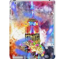 Empire State Building Painted iPad Case/Skin