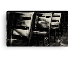 Sit In The Heavenly Light Canvas Print