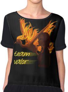 Pokemon Go Team Valor Chiffon Top