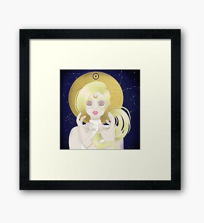 Blond Sun  Framed Print