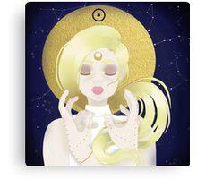 Blond Sun  Canvas Print