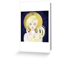 Blond Sun  Greeting Card