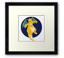 Dragonite - Basic Framed Print