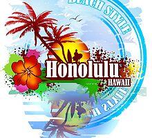 Honolulu Hawaii by dejava