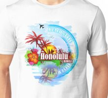 Honolulu Hawaii Unisex T-Shirt