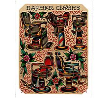 Barber 008 Photographic Print