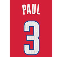 Chris Paul Photographic Print