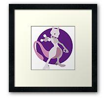 Mewtwo - Basic Framed Print