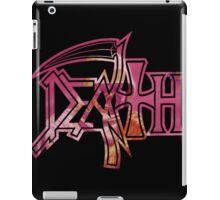 DEATH! iPad Case/Skin