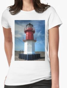 Point of Ayre Lighthouse - Winkie Womens Fitted T-Shirt