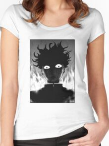 777% - Mob Psycho 100  Women's Fitted Scoop T-Shirt