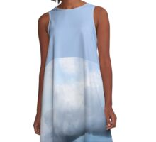 Storm Cloud A-Line Dress