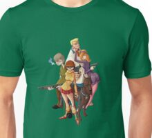 mystery inc scooby doo all team Unisex T-Shirt