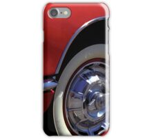 Fast Lines 1960 Classic Red Chevy Corvette Photo  iPhone Case/Skin