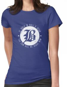Beartooth Rock Is Dead Womens Fitted T-Shirt